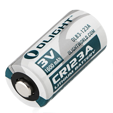 Olight Battery CR123A Lithium Battery