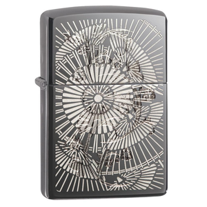 Zippo Flower 29421 Asian Floral Lighter - Thomas Tools