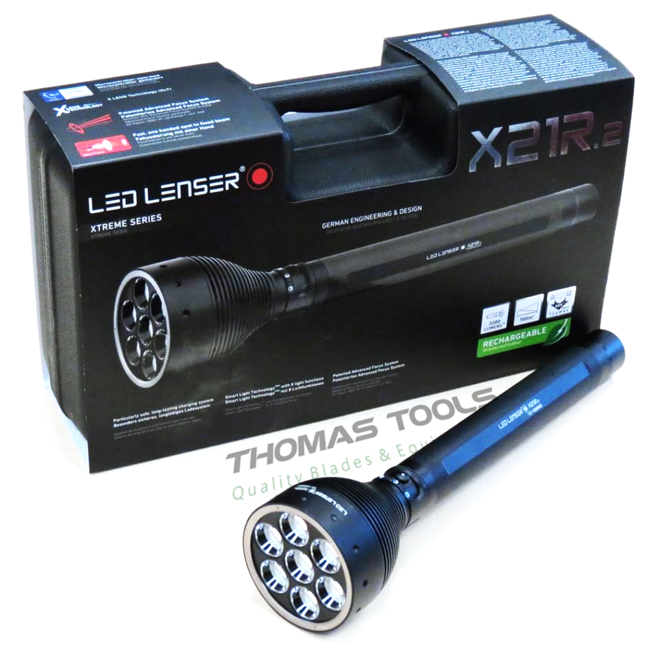 LED Lenser X21R.2 (3000 Lumens) - Thomas Tools