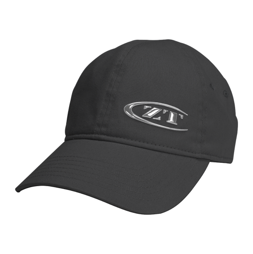 Zero Tolerance Liquid Metal Logo Cap