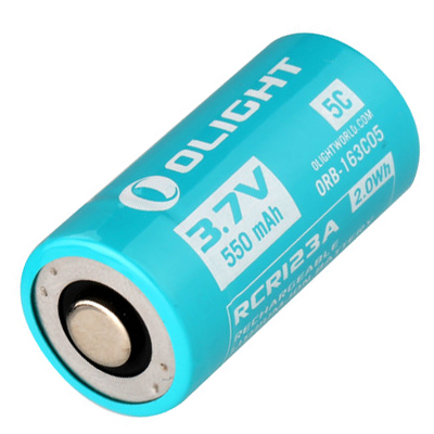 Olight Battery Customised RCR123 550mAh (S1R)