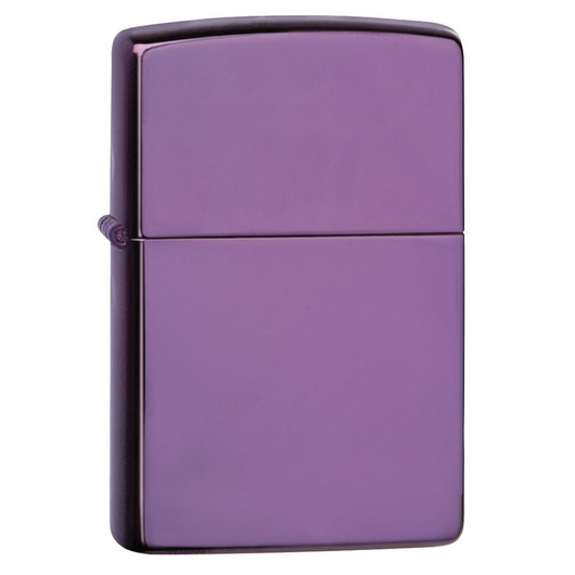Zippo Colored 24747 High Polish Purple Lighter - Thomas Tools