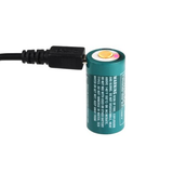 Olight Battery RCR123 650mAh USB