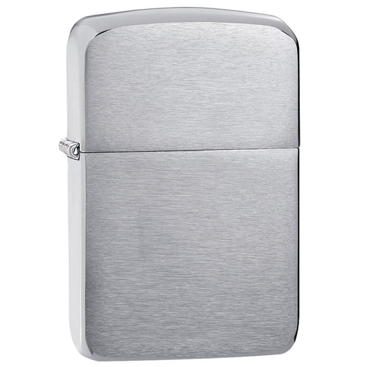 Zippo Replica 1941 Brushed Chrome Lighter - Thomas Tools