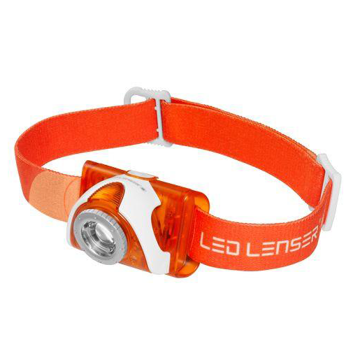LED Lenser SEO3 Orange (100 Lumens) - Thomas Tools