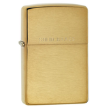 Zippo Brass 204 Brushed Solid Brass Lighter - Thomas Tools