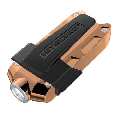 Nitecore TIP CU Copper Keychain Rechargeable Flashlight (360 Lumens) - Thomas Tools