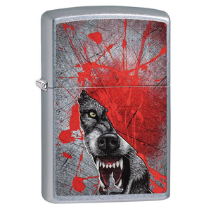 Zippo Wolf 29344 Wild Adventure Lighter - Thomas Tools