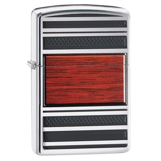 Zippo Pipe 28676 Wood Emblem Lighter - Thomas Tools