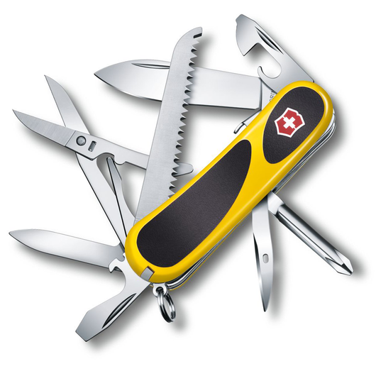 Victorinox Evolution Grip S18 Multitool (Yellow) - Thomas Tools