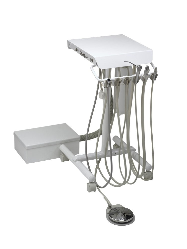 Engle Flip-Top Dual Purpose Cart with Mounted Controls