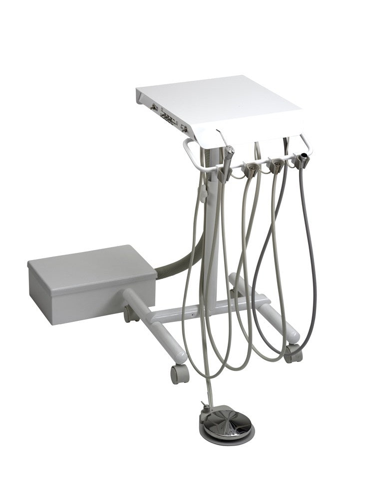 Engle Flip-Top Doctor's Cart with Mounted Controls