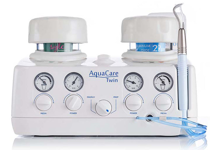 AquaCare Twin Air Abrasion & Polishing System