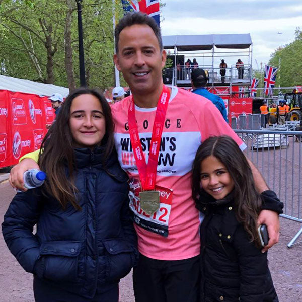 DANILO'S GEORGE COMPLETES THE LONDON MARATHON!