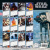 Star Wars Classic 2021 Square Wall Calendar Back