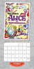 Disney Vintage Posters 2021 Square Wall Calendar October