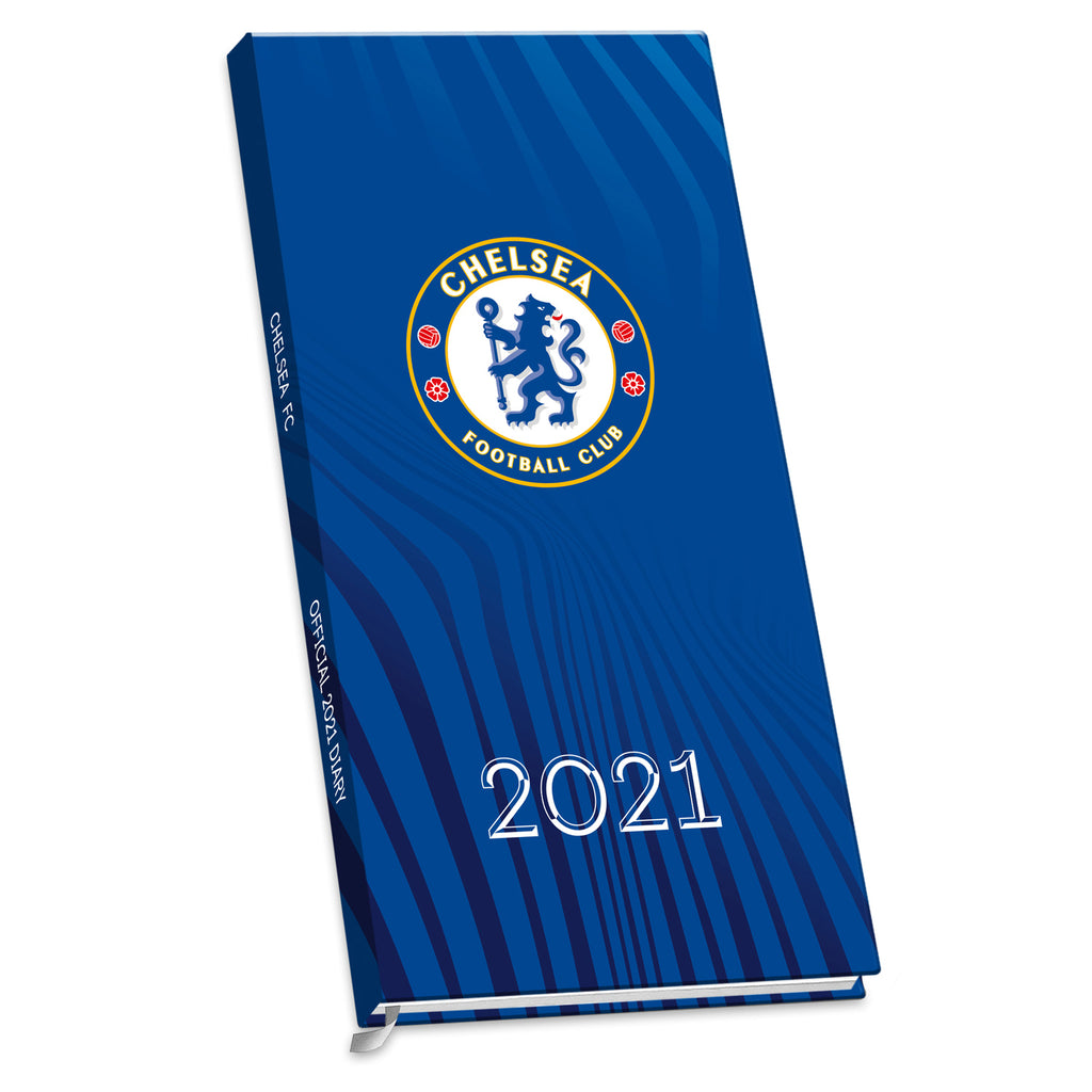Chelsea Football Club 2021 Slim Diary FRONT
