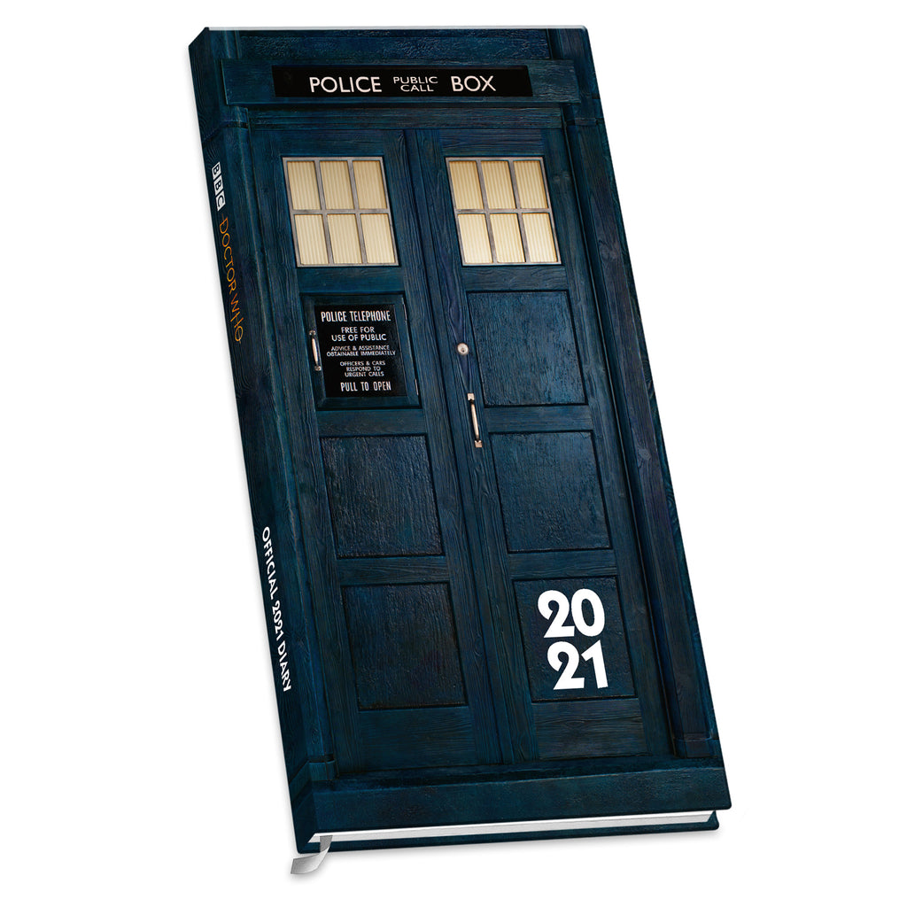 Doctor Who Official 2021 Slim Diary FRONT