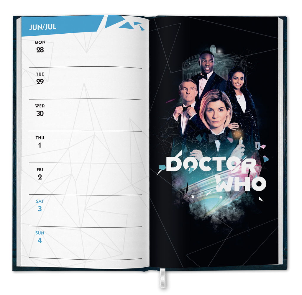 Doctor Who Official 2021 Slim Diary INSIDE