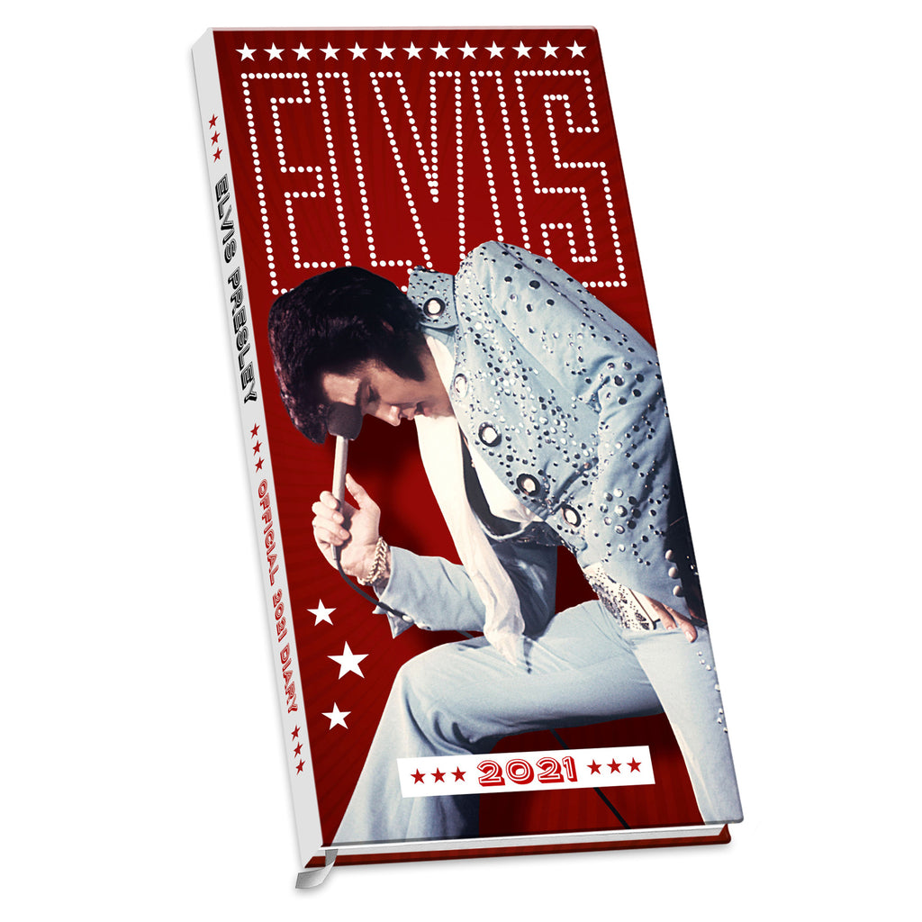 Elvis Official 2021 Slim Diary FRONT