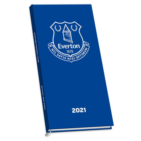 Everton FC 2021 Slim Diary COVER