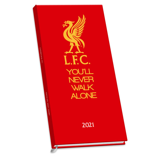 Liverpool FC 2021 Slim Diary FRONT