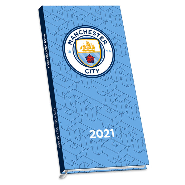 Manchester City Football Club 2021 Slim Diary FRONT