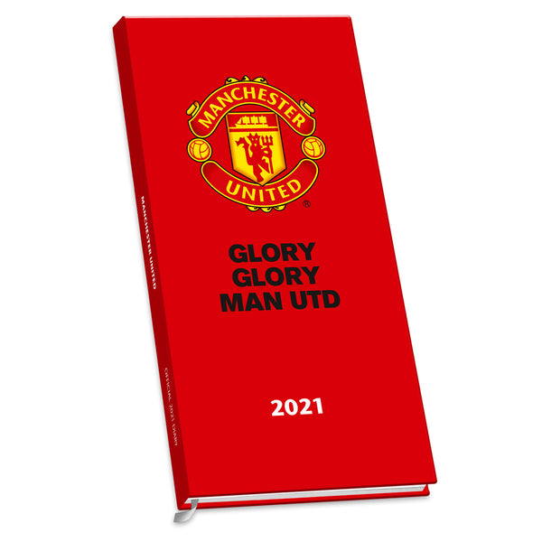 Manchester United Football Club 2021 Slim Diary FRONT