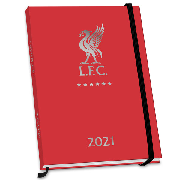 Liverpool Football Club 2021 A5 Diary Front