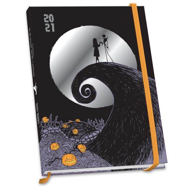 Nightmare Before Christmas 2021 A5 Diary Front