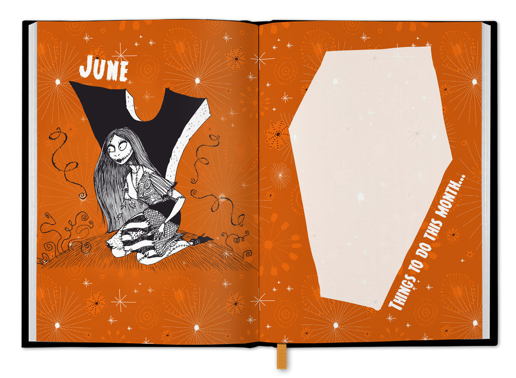 Nightmare Before Christmas 2021 A5 Diary Inside 1