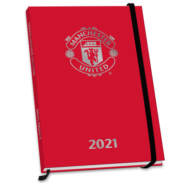 Manchester United Football Club 2021 A5 Diary Front
