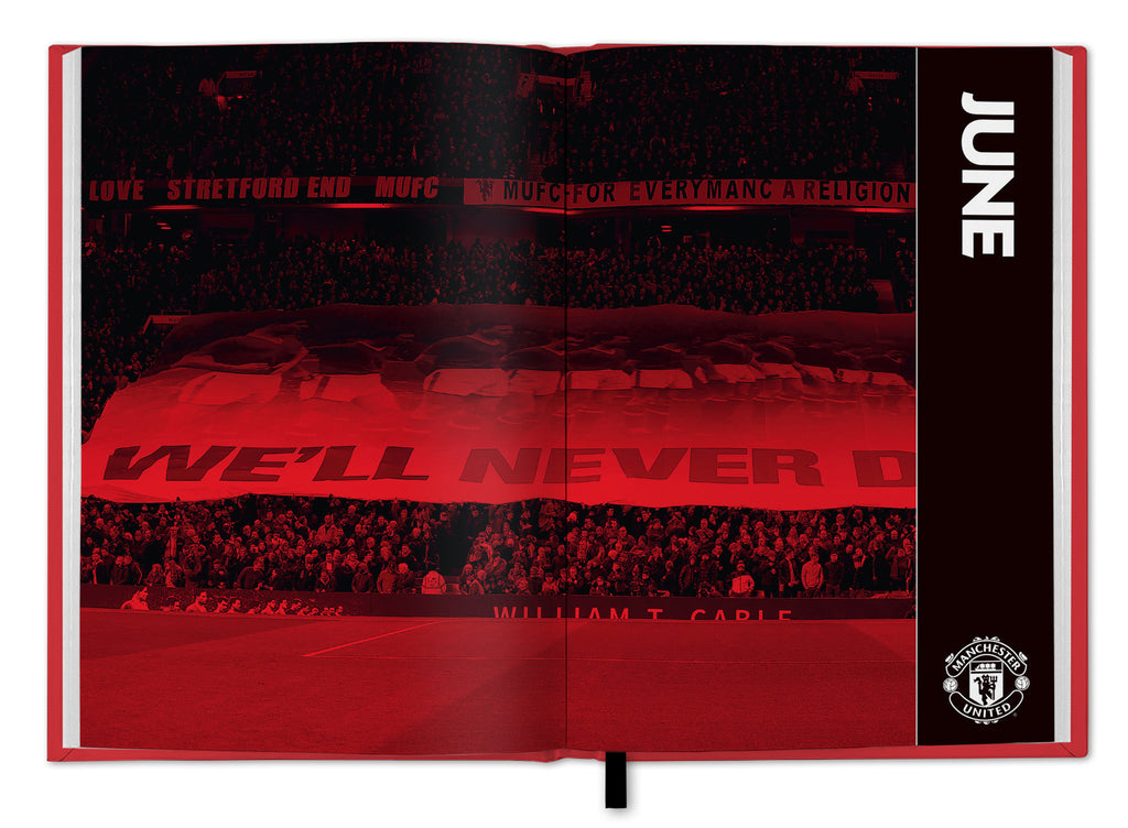 Manchester United Football Club 2021 A5 Diary Inside 1