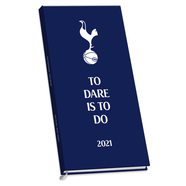 Tottenham Hotspur Football Club 2021 Slim Diary FRONT