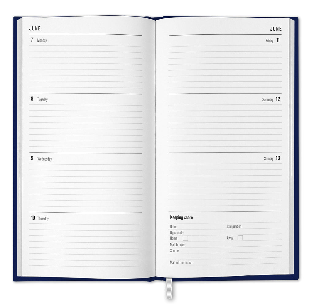 Tottenham Hotspur Football Club 2021 Slim Diary INSIDE 2