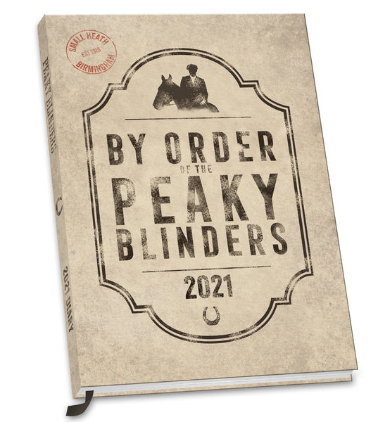 Peaky Blinders 2021 A5 Diary FRONT