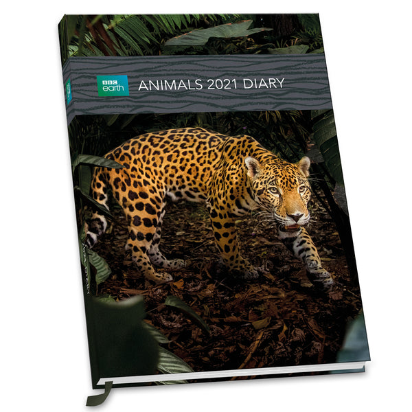 BBC Earth Animals 2021 A5 Diary FRONT