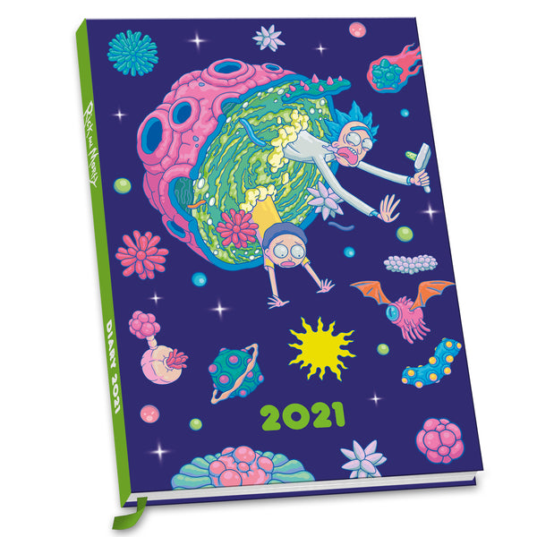 Rick & Morty Official 2021 A5 Diary Front
