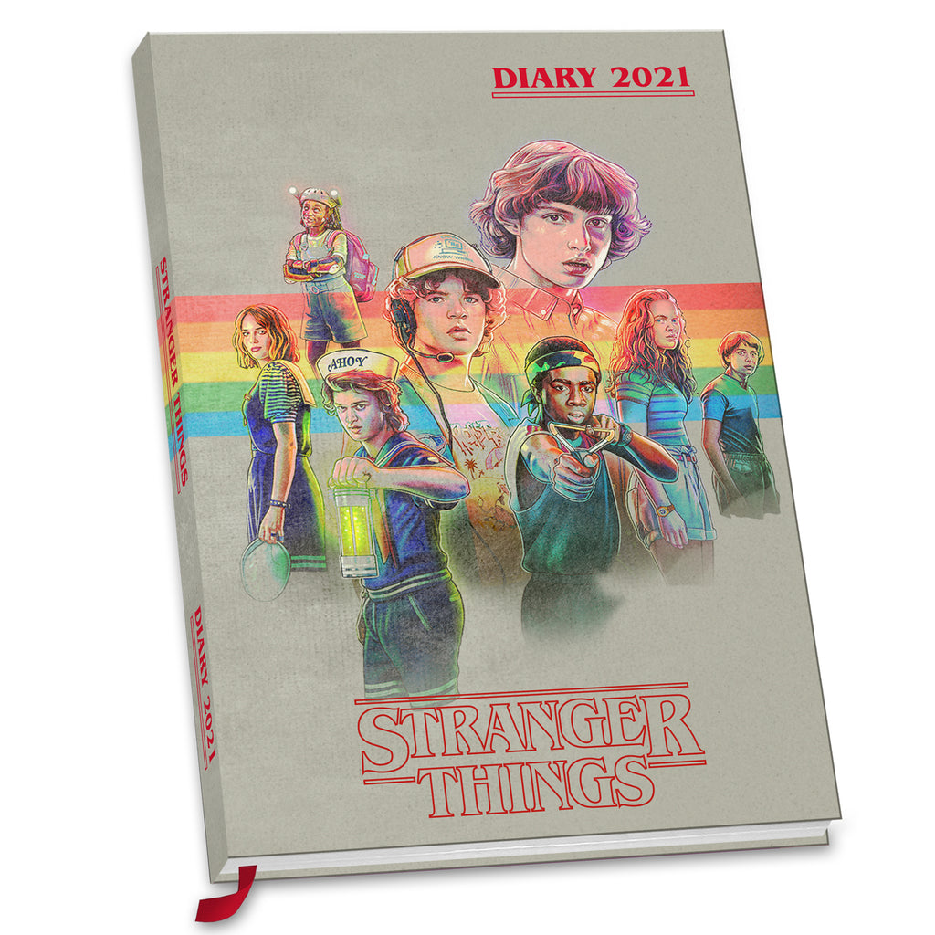 Stranger Things Official 2021 A5 Diary Front