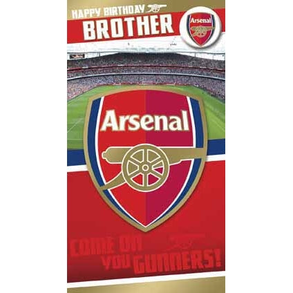 Arsenal Brother Greeting Card