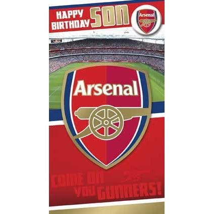Arsenal Son Greeting Card