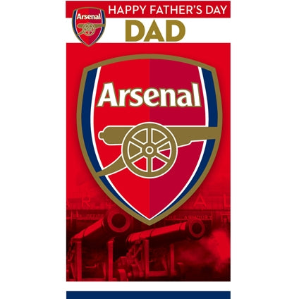 Arsenal FC Father's Day Card