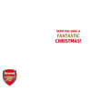 Arsenal FC Any Name Christmas Card inside