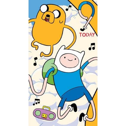 Adventure Time Age 9 Birthday Card