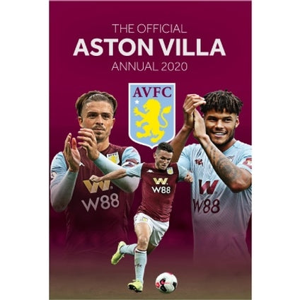 Aston Villa Football Club Official 2020 Hardback Annual