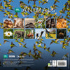 BBC Earth Animals 2021 Calendar Back