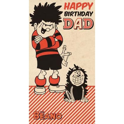 Beano Dad Birthday Card