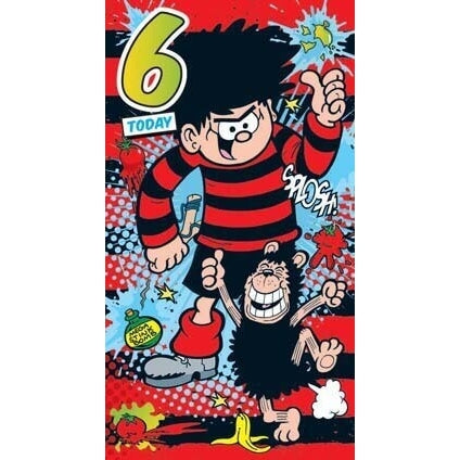 Beano Age 6 Birthday Card