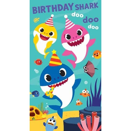 Birthday Shark Doo doo dod Birthday Card