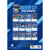 Coventry City FC 2021 A3 Wall Calendar Back